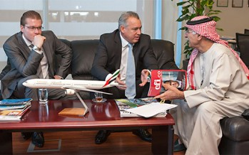 Emirates: Outstanding Contribution to Airline CSR Global Award & Corporate Leadership UAE Award
