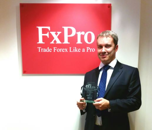 FxPro Financial Services is the 2014 Winner of the CFI.co Award for 'Best FX Execution, Global ...