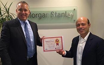 Morgan Stanley: Best Institutional Broker UAE