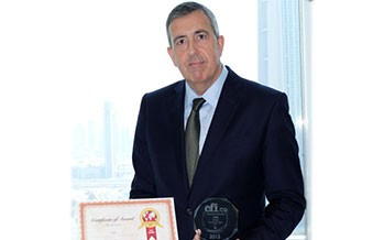 UBP Wins the CFI.co Private Banking Award, UAE