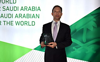 King Abdullah Economic City (KAEC) wins CFI.co Award: Best Infrastructure Development for Economic Growth in The Middle East