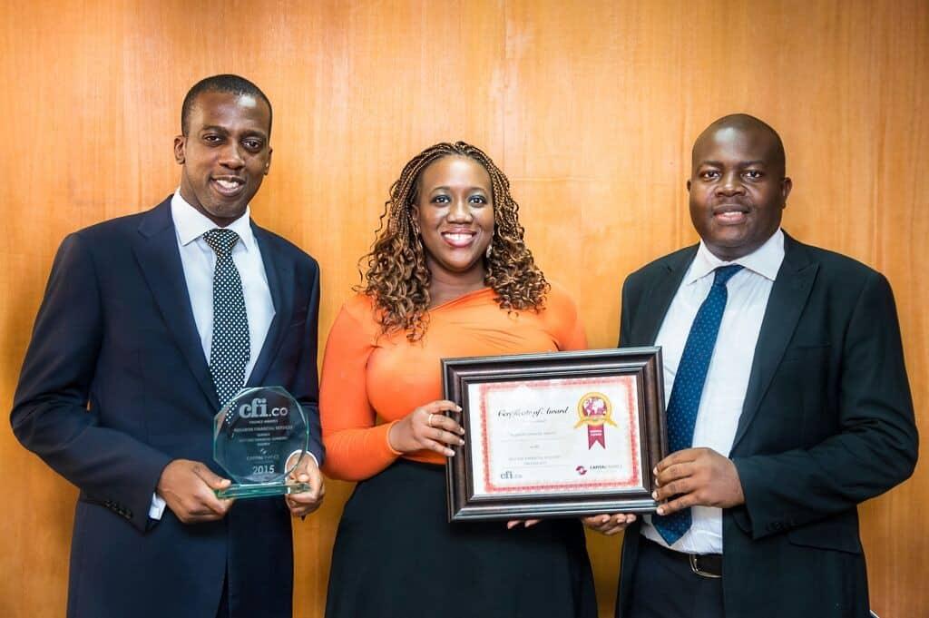 Rosabon CFI Award Win