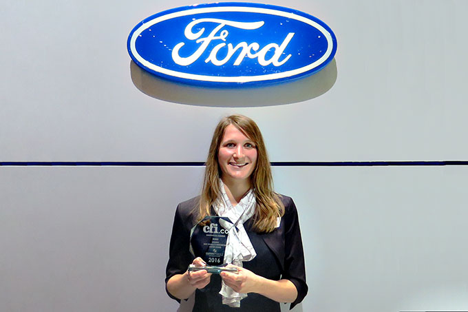 Ford motor co best mobility innovation united states for Ford motor company awards
