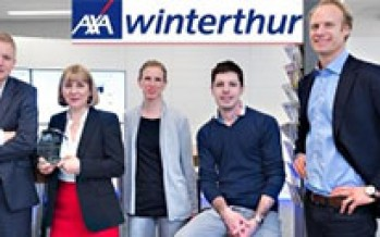 AXA Winterthur: Outstanding Contribution to Sustainable Insurance Switzerland 2016