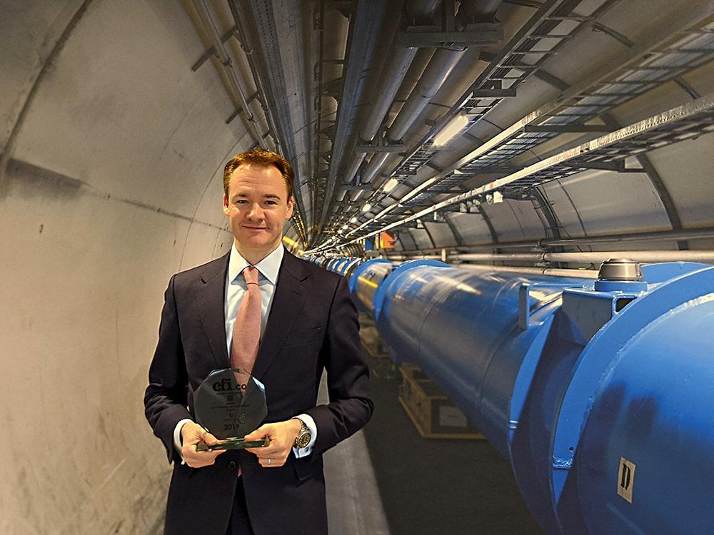 CEO of CERN Pension Fund Matthew Eyton-Jones CERN CFI.co