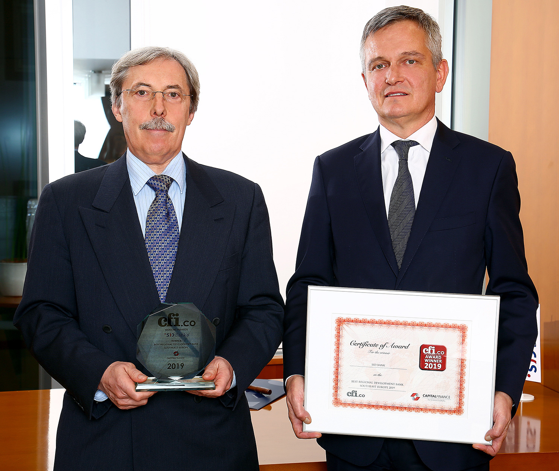 Management Board: President Sibil Svilan and Member Goran Katušin. Photo: Barbara Zajc