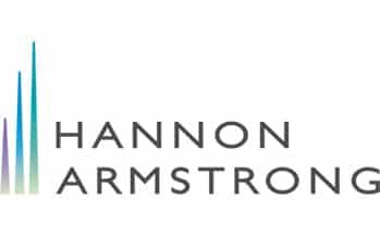 Hannon Armstrong: Best ESG Sustainable Investment Strategy USA 2020