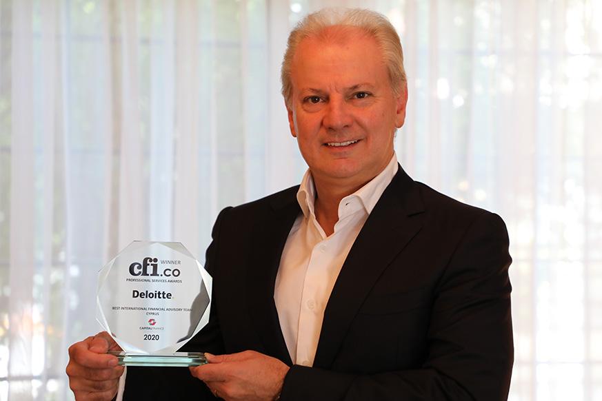 Nicos Kyriakides - Deloitte-CFI.co-Award-Win-2020