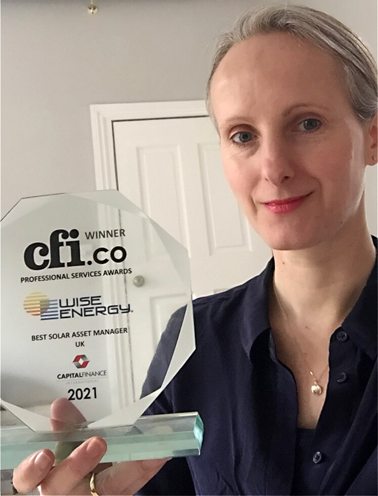 WiseEnergy Global Managing Director: Rebecca Carter