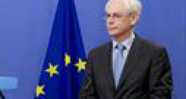 European Council's Van Rompey: Europe Must Overcome Crisis to Defend Democratic Values