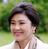 Yingluk Shiniwatra, PM Thailand