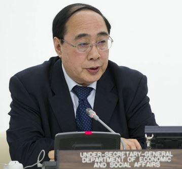 Under-Secretary-General for Economic and Social Affairs. UN Photo/Rick Bajornas
