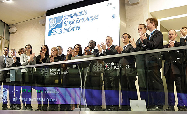UNCTAD Secretary-General Kituyi welcomes London Stock Exchange to the Sustainable Stock Exchanges initiative.