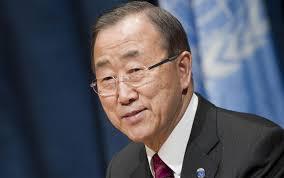 UN SG Ban Ki-moon