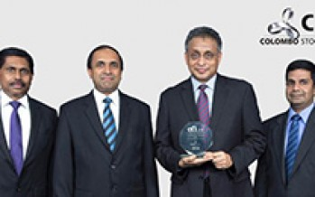 <br>Colombo Stock Exchange: Most Sustainable Growth Exchange Asia