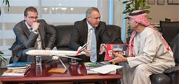 Emirates: Outstanding Contribution to Airline CSR Global 2014 Award & Corporate Leadership UAE 2014 Award