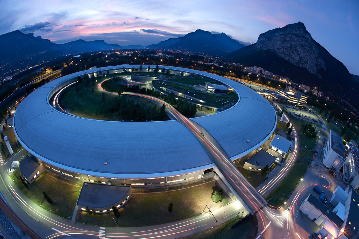 The European Synchrotron Radiation Facility (ESRF) in Grenoble France.