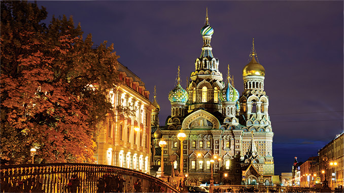 St. Petersburg, Russia: The Church of the Savior on Spilled Blood