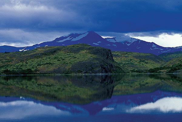 Chile: Mountain Landscape. Photo: Curt Carnemark / World Bank