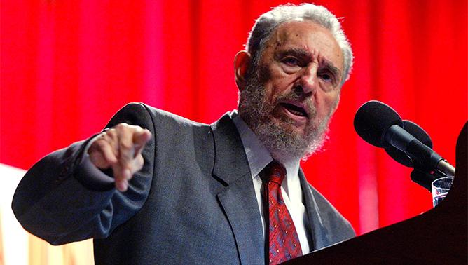 Fidel Castro. Photo: AP
