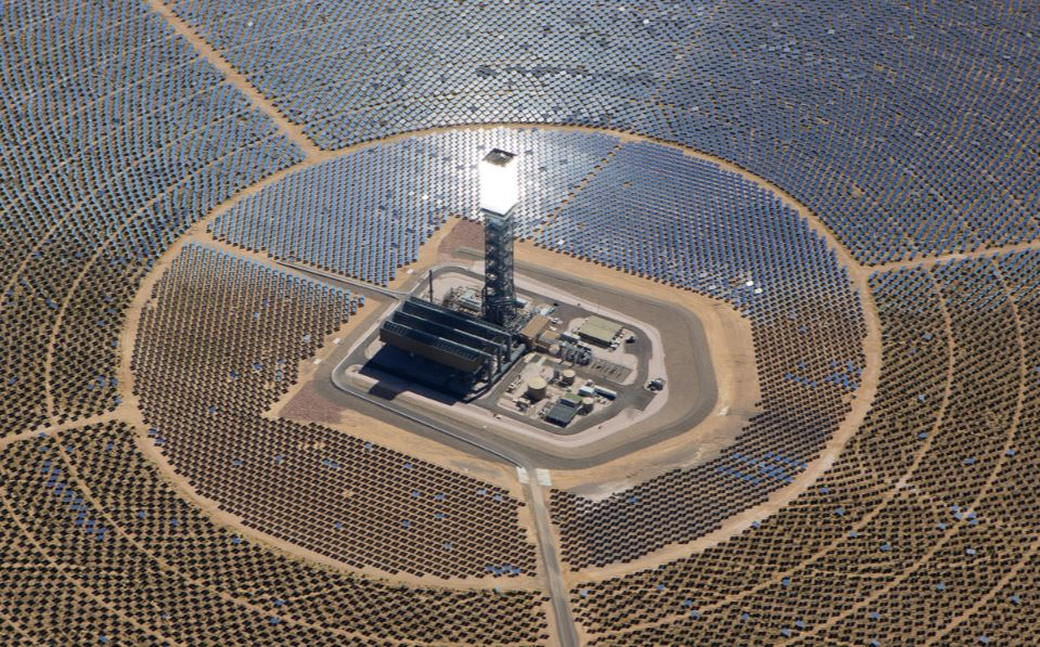 Noor, the largest concentrated solar power complex in the world.