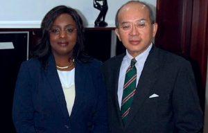 Deputy MD Fatoumata Camara Toure & MD David Ng