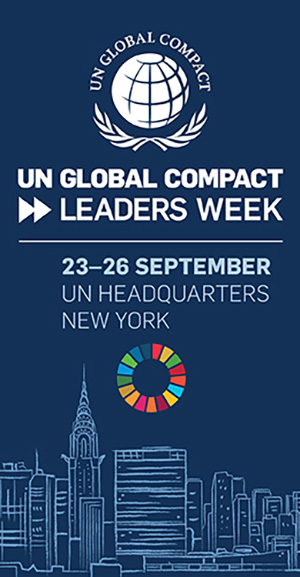 united nations global compact leaders week - 23-26 september new york UN headquarters