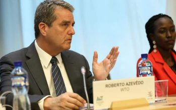 WTO: DG Azevêdo welcomes G20 pledge on COVID-19 response and economic recovery