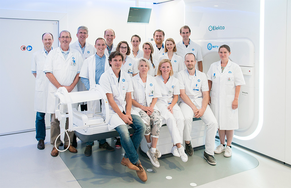 The University Medical Center (UMC) Utrecht, Netherlands treated the world's first patient with Elekta Unity MR-Linac.
