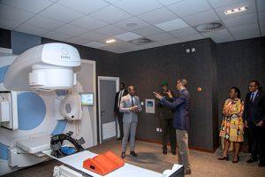 Elekta Synergy Launch: Ministry of Health, Rwanda