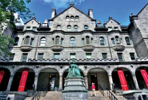 Montreal, Canada: the downtown Montreal campus of McGill University