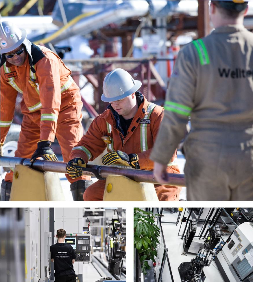 Welltec engineers