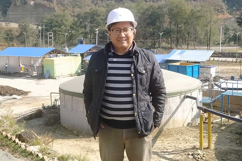 """We wanted to chip in where we could,"" said Kushal Gurung."