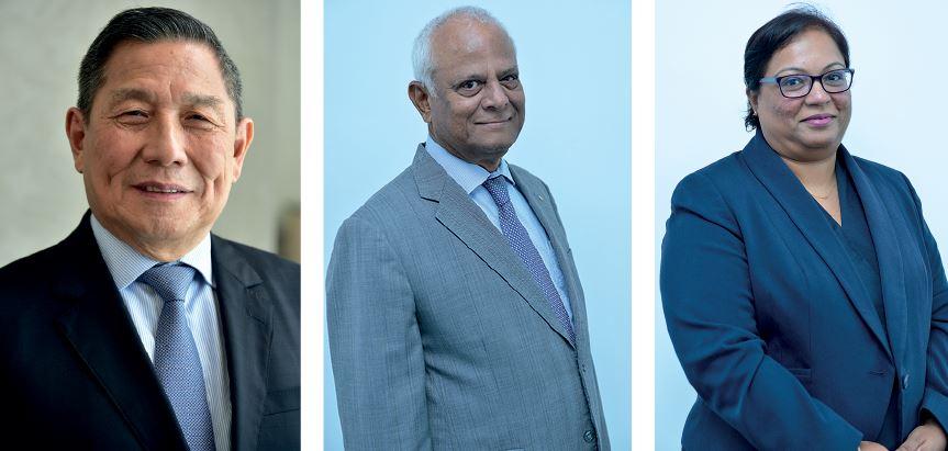 SBM Group Chairman: K.C. Li CEO SBM (NBFC) Holdings Ltd: Kris Lutchmenarraidoo Head SBM Capital Markets Ltd: Anoushka Bhuttoo