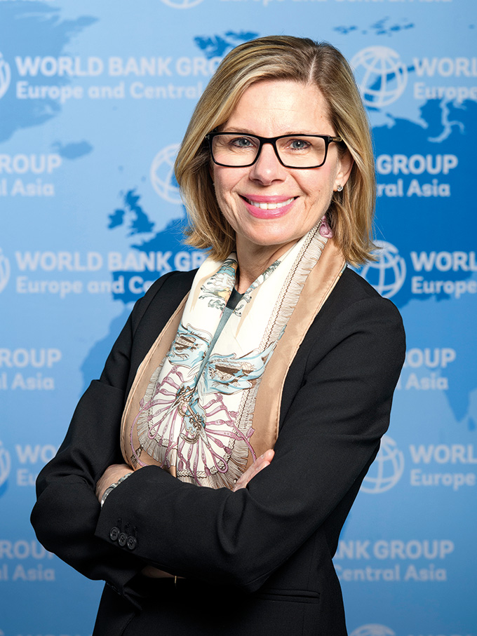 World Bank Vice President, Europe and Central Asia: Anna Bjerde