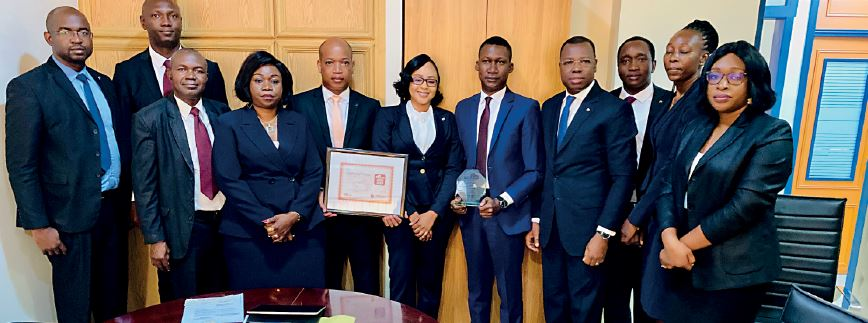 Fidelis team: the winner of CFI.co award of the Best Economic, Environmental and Social Impact SME Finance - West Africa 2019