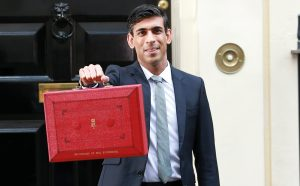Chancellor of the Exchequer: Rishi Sunak