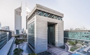 The Access Bank UK DIFC Branch situated in the iconic Gate Building of Dubai International Financial Centre