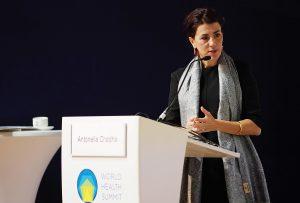 Antonella Chadha at the World Health Summit in Berlin.