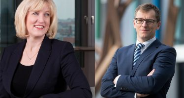 CFI.co Meets the EY Germany Management Team: Hubert Barth & Julie Linn Teigland