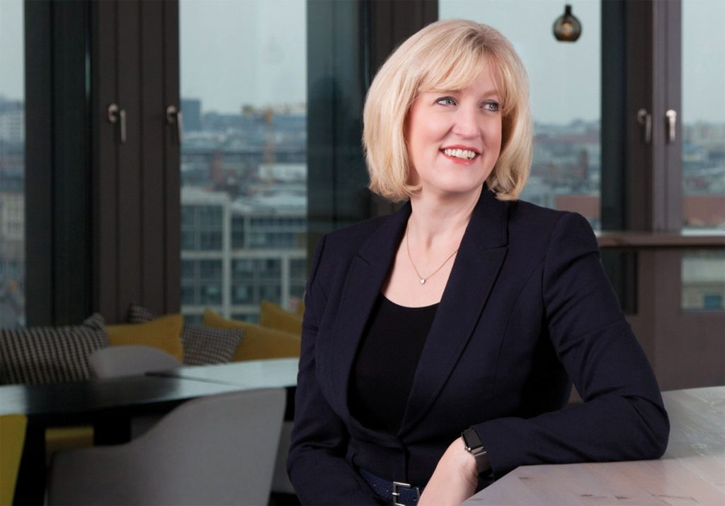 Managing Partner EY Germany, Switzerland, and Austria (GSA): Julie Linn Teigland