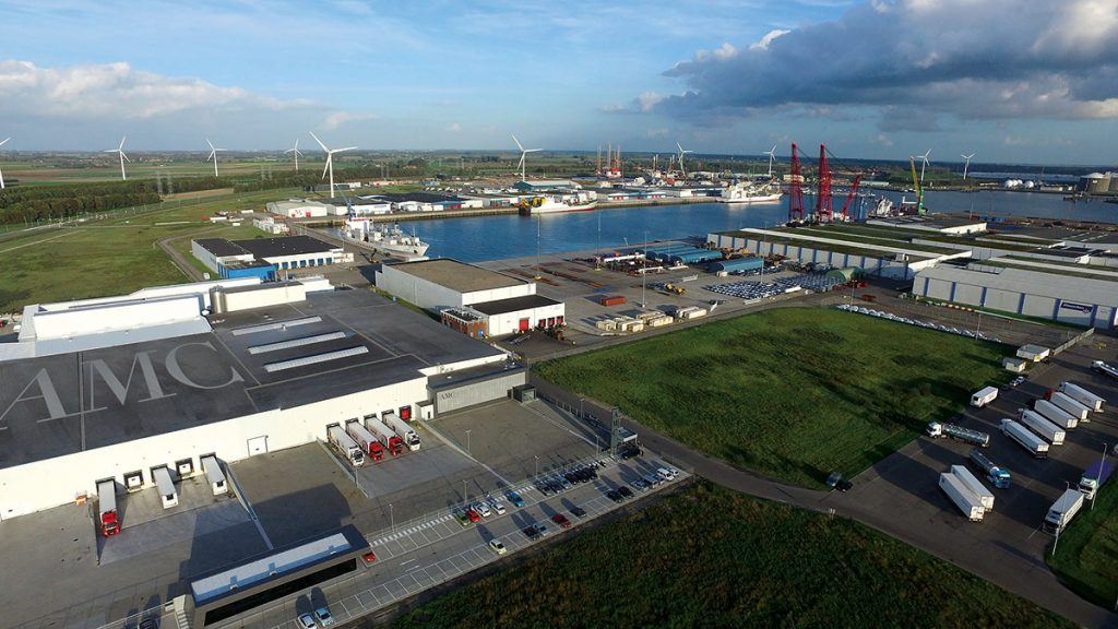 AMC Vlissingen: one of the AMC state-of-the-art bottling sites in The Netherlands