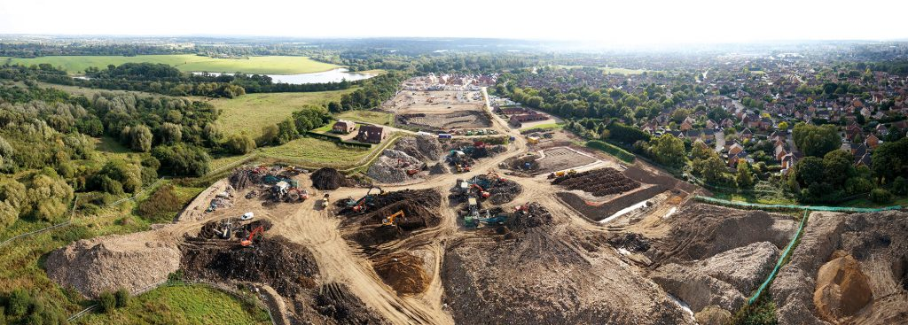 Landfill Mining UK: Residential Development on a former and recently remediated landfill site
