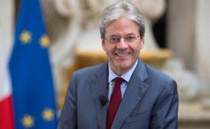 EU Commissioner for Economy Paolo Gentiloni, Source Tiberio Barchielli