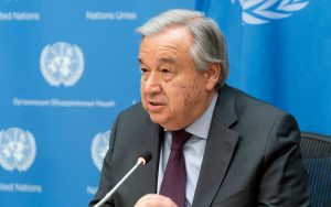 Secretary-General of the United Nations: António Guterres