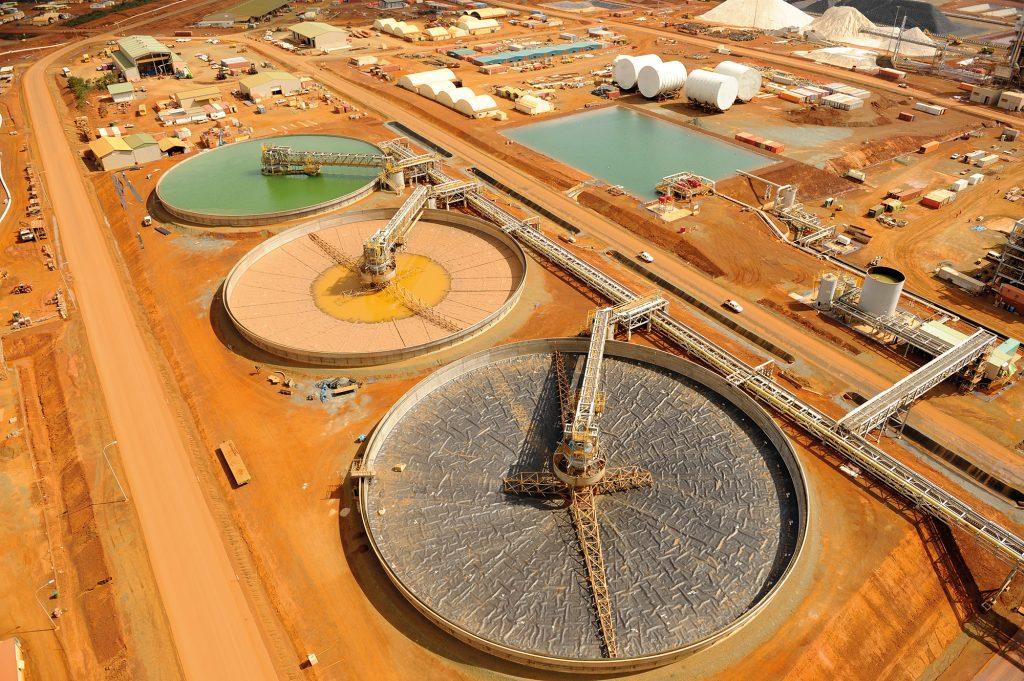 New Caledonia: CCD Tank Farm in a Nickel Mine