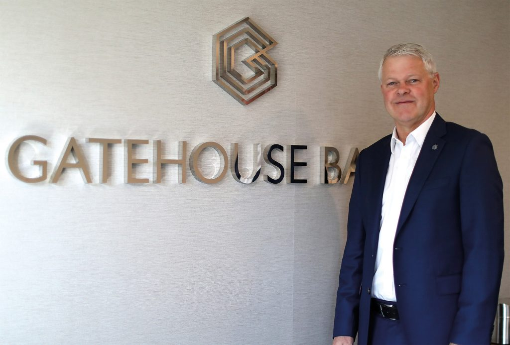 Gatehouse CEO Charles Haresnape