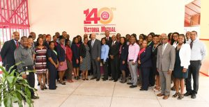 Governor General's Visit: Jamaica's Governor General His Excellency The Most Honourable Sir Patrick Allen visited our Half-Way Tree location in November 2018, in celebration of Victoria Mutual's 140th anniversary celebrations.