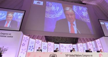 UN News: Kyoto Crime Congress opens with declaration to tackle growing crime threats, promote inclusive COVID-19 recover