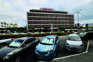 The Victoria Mutual Group's iconic Knutsford Boulevard, New Kingston location.